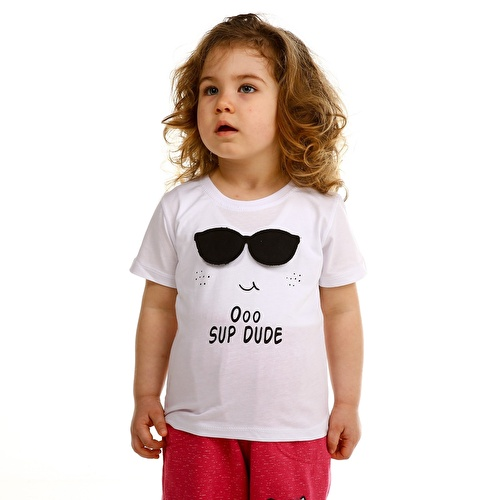Bebek Gözlük Süprem Tshirt