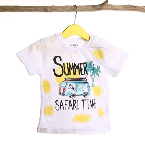 Bebek Bisiklet Yaka Safari Süprrem Tshirt