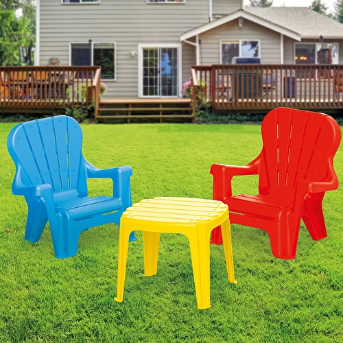 Baby Toy Table & 2 Chairs Set