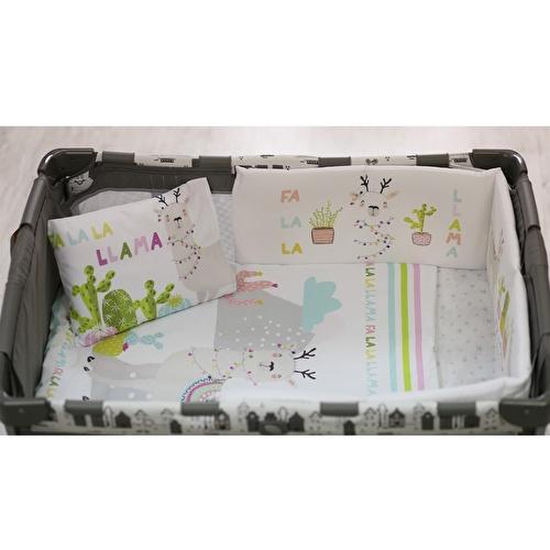 Baby Llama Bed Filled Duvet Cover & Pillow Case 2 pcs Set