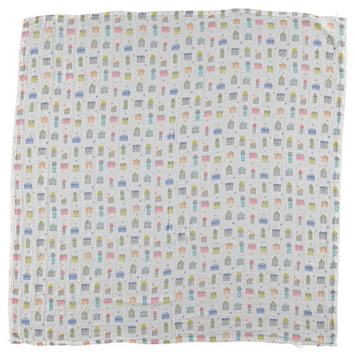 Muslin Multi-Use Cotton Baby Cover Blanket - Home 115x115 cm