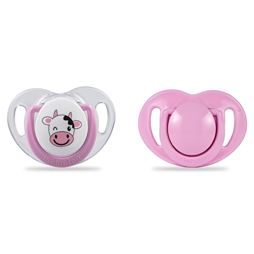 Silicon Baby Pacifier 2 pcs