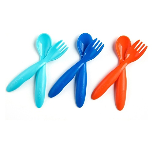 Baby Fork Spoon Set 6 pcs