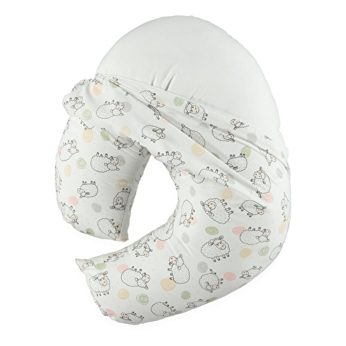 Feeding and Infant Support Pillow Cotton Sheep Patterned 0-12 Months