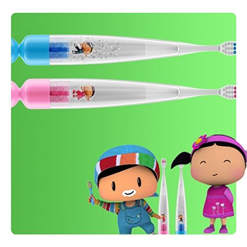 Işıklı Diş Fırçası - Pembe