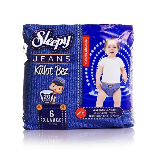 Jeans Külot Bez XLarge 6 Beden 15-25 kg 20 Adet