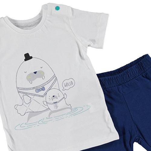 Baby Boy Tshirt Short Set