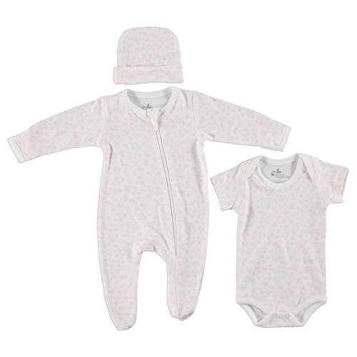 Nature Welcome Baby Set (Newborn Baby Girl Clothes Toddler Infant Set)