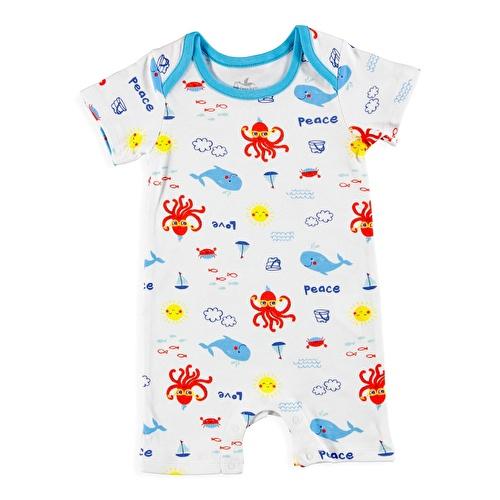 Baby Boy Fun Summer Jumpsuit