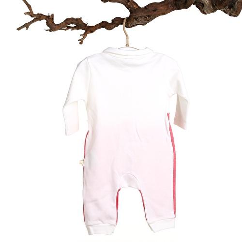 Pamela Baby Girl Peter Pan Collar Rib Romper