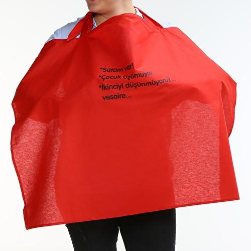Humorous Slogan Breastfeeding Apron Cotton