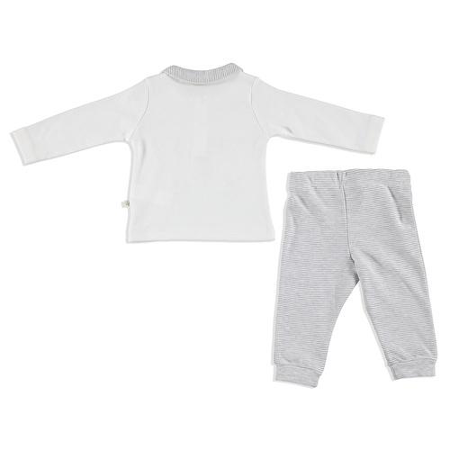 Winter Picoli Baby Polo Neck Sweatshirt Pants 2 pcs Set