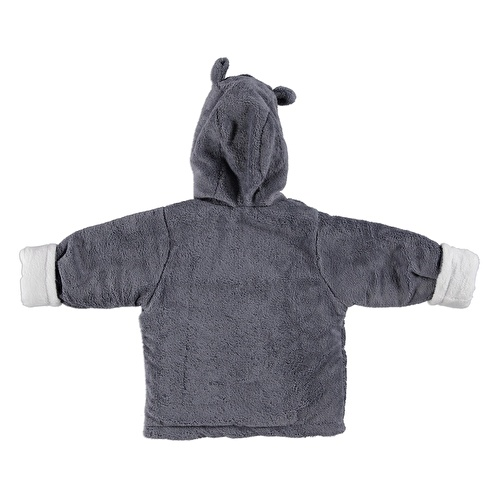 Hoodie Cotton Lined Baby Polar Cardigan