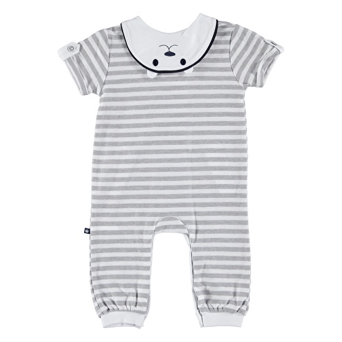 Baby Boy CalimeroPolo Neck Pocket Detailed