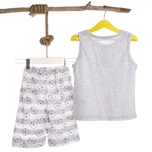 Baby Boy Cat Athelete Short Set