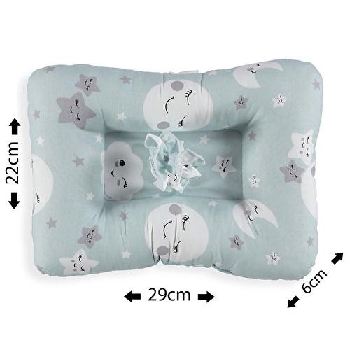 Mini Nursing Pillow Sky Patterned Cotton 0 Month+