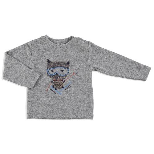Kış Winter Vibes Erkek Bebek Yumuşak Tuşeli Sweatshirt
