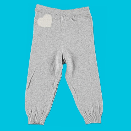 Winter Heart Patterned Baby Jumper Trouser Set