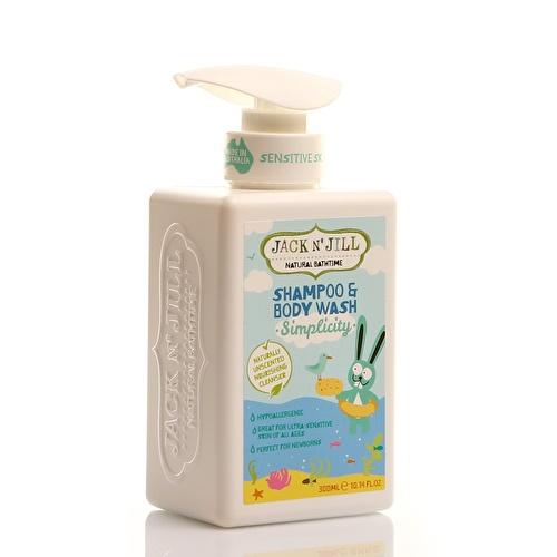 Natural Bathtime Shampoo&Body Wash Simplicity 300 ml