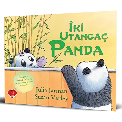 Two Shy Pandas Story Book