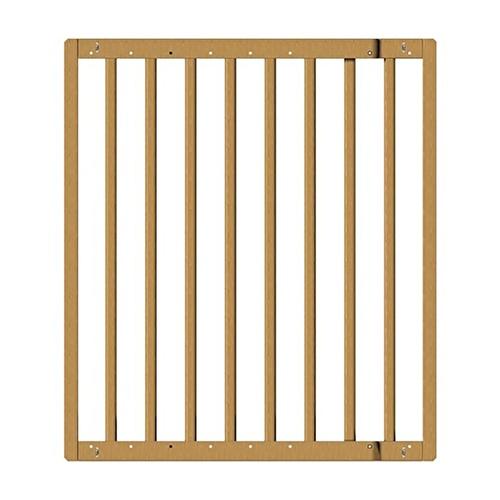 Ahşap Güvenlik Kapısı Uzatılabilen