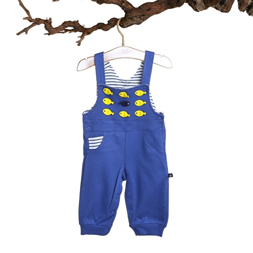 Baby Boy Fish Jumpsuit