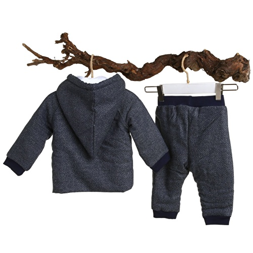 Baby Boy CarlaWelsoft Sweatshirt Trousers Set