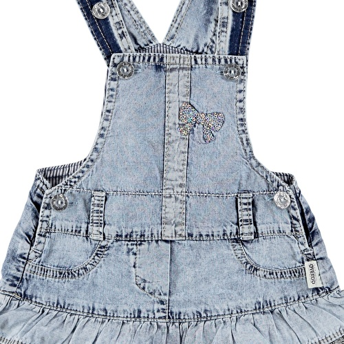 Panty Detailed Baby Girl Dress