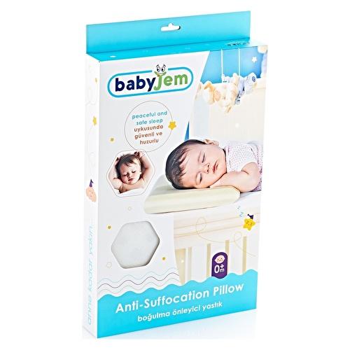 Boğulmayı Önleyici Bebek Yastık Ekru