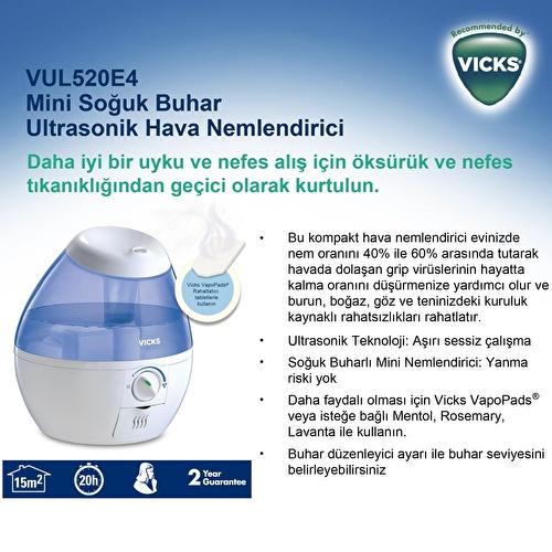 VUL520 Mini CoolMist Ultrasonic Humidifier