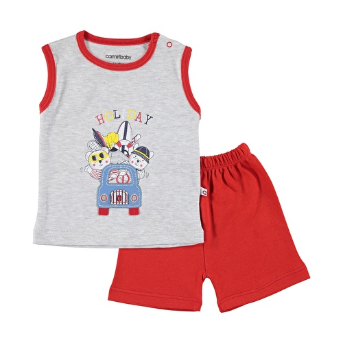 Car Printed Baby Boy Athlete Short