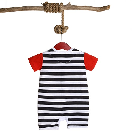 Baby Boy Striped Jumpsuit