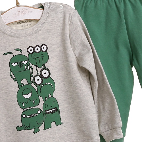 Long Sleeve Pyjamas Set