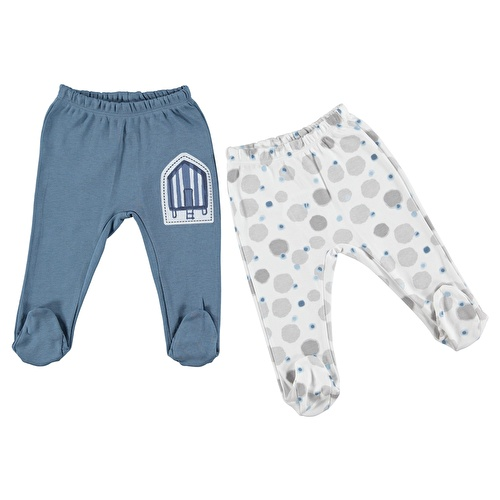 Mediterranean Spirit Baby Footed Trousers Set