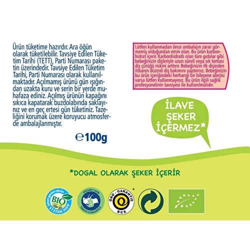 Organik Elmalı Muzlu Çilekli Meyve Keyfi 90 gr