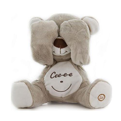 Peek-a-boo Sitting Teddy Bear