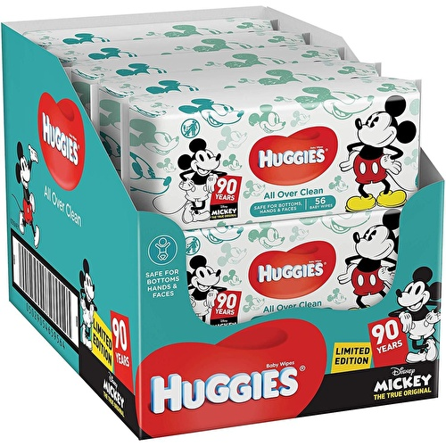 Baby All Over Clean Wet Wipes 10x56 pcs