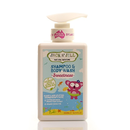 Natural Bathtime Shampoo&Body Wash Sweetness 300 ml