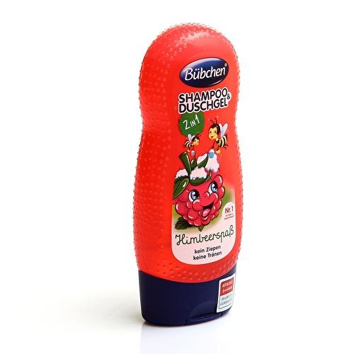 Shampoo and Shower Gel Raspberry 230 ml