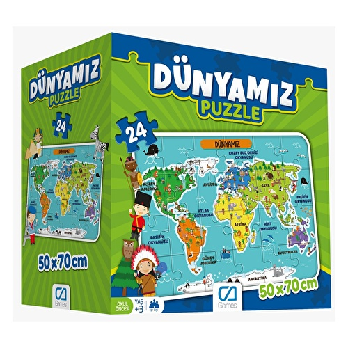 Educational Puzzle - Our World 3 Years+