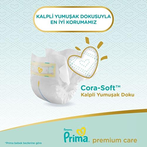 Bebek Bezi Premium Care 4 Beden Maxi Ekonomik Paket 9-14 kg 51 Adet