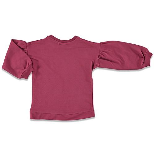 Parlak Yıldız İki İp Baskılı Kız Bebek Sweatshirt