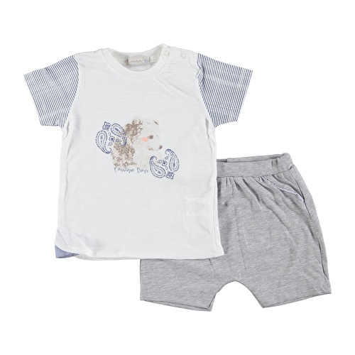 Summer Baby Boy Teddy Bear 2 Pack Set