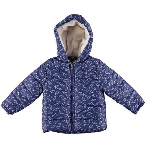 Baby Boy Dino Water Repellent Coat