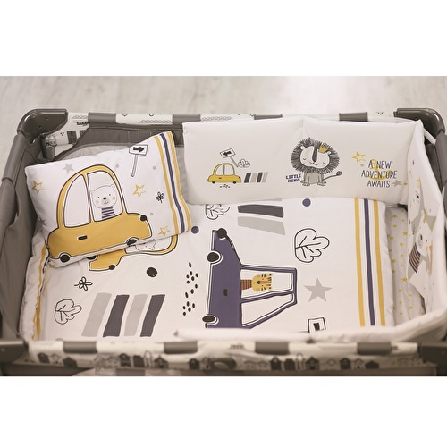 Baby Cars Bed Filled Duvet 3 pcs Set