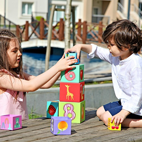 Baby Educational Cubes