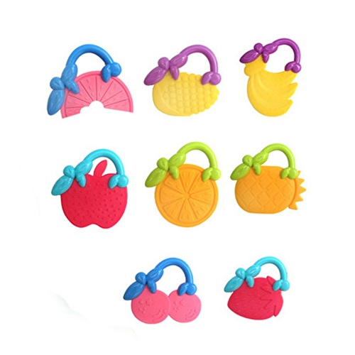 Fruits Baby Teether 4 pcs