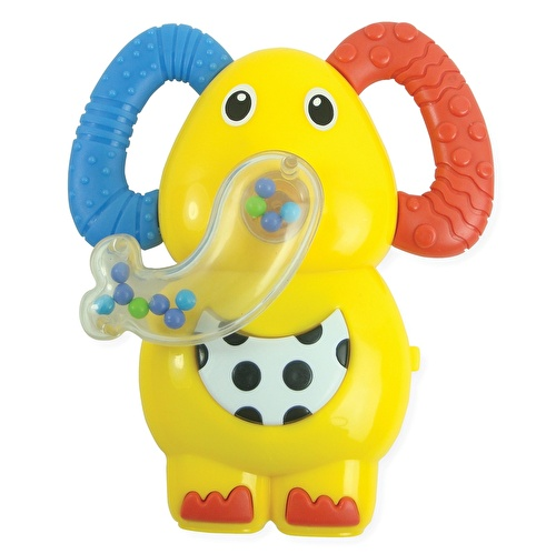 Musical Cute Elephant Baby Baby Teether