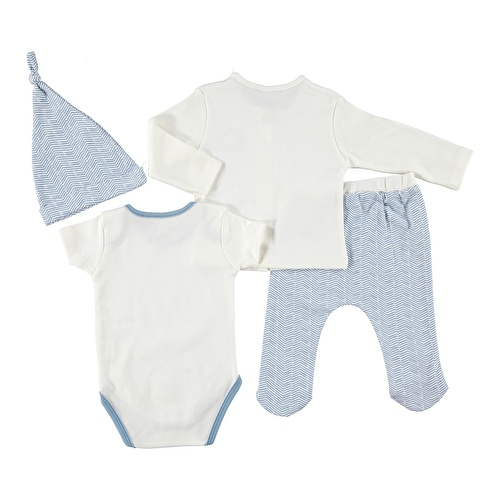 Baby Sweater Bodysuit Bottom Set