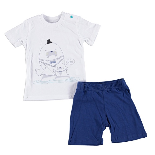 Baby Boy Tshirt Short Set